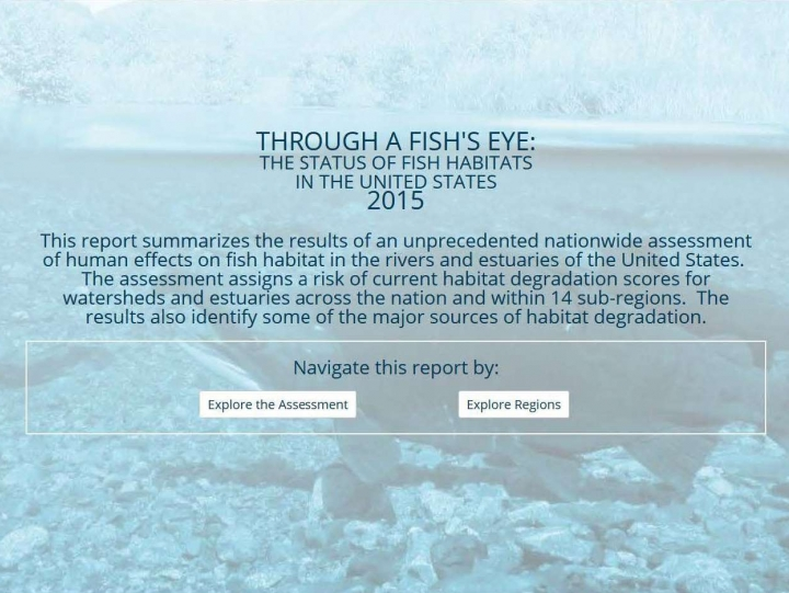 Report on Nation's Waterways Provides Insight into Habitat Changes