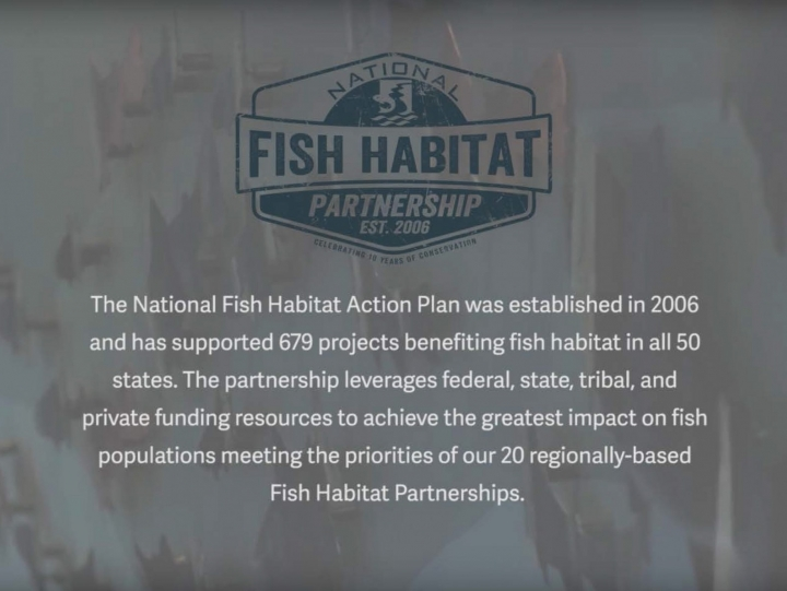 "National Fish Habitat Partnership Releases ""Our Story"""