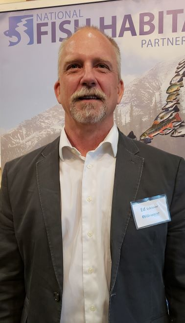 Schriever Elected as National Fish Habitat Board Chair